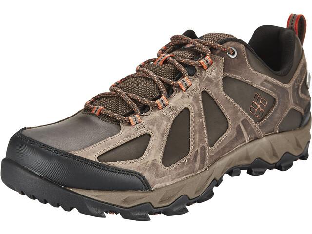 Columbia Peakfreak XRCSN II Low Outdry Chaussures Homme, cordovan / sanguine